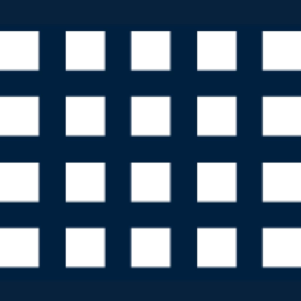 Qg – čtvercové řadové