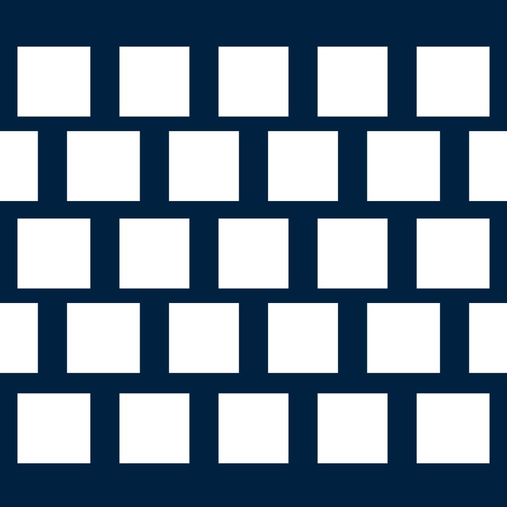 Qv – čtvercové přesazené