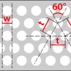 Rv - kruhové přesazené